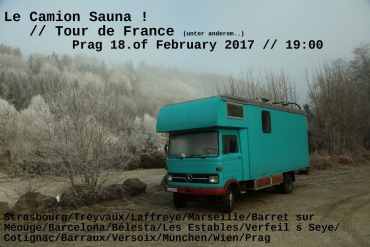 Master of sauna- Jerome and his camion!