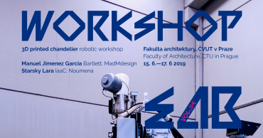 Robotic workshop: 3D printed chardelier | EAB #4