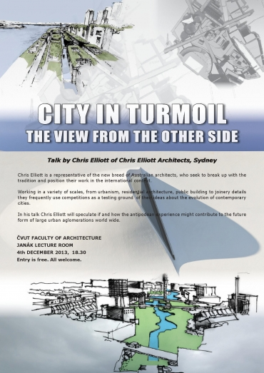 The city in turmoil / the view from other side