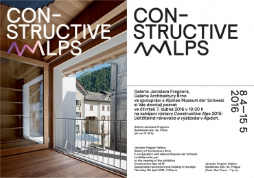 Constructive Alps 2015 + Built in Swiss Mountains / within the project Built in Mountains, Prague